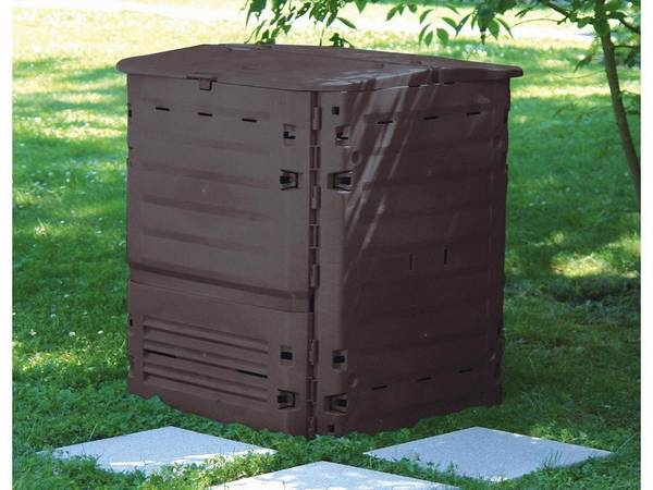 Composteur jardin - Critique