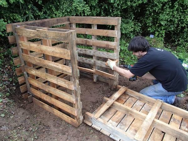 Comment fabriquer un composteur - Disponible
