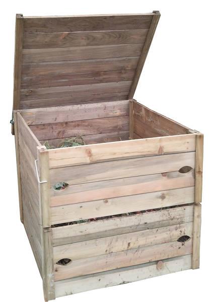 Composteur en bois - prix sacrifié