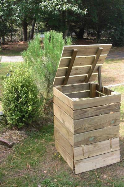 Fabriquer composteur bois - Promo