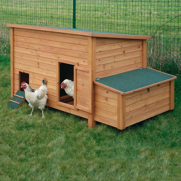 Poulailler 2 poules - livraison gratuite