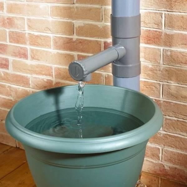 Recuperation eau de pluie - Pas cher