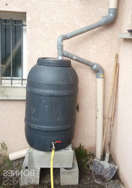 recuperateur eau de pluie mural
