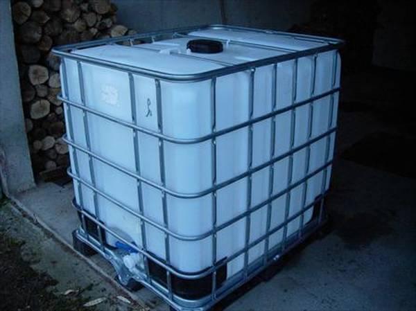 cuve recuperation eau de pluie enterrée 3000l