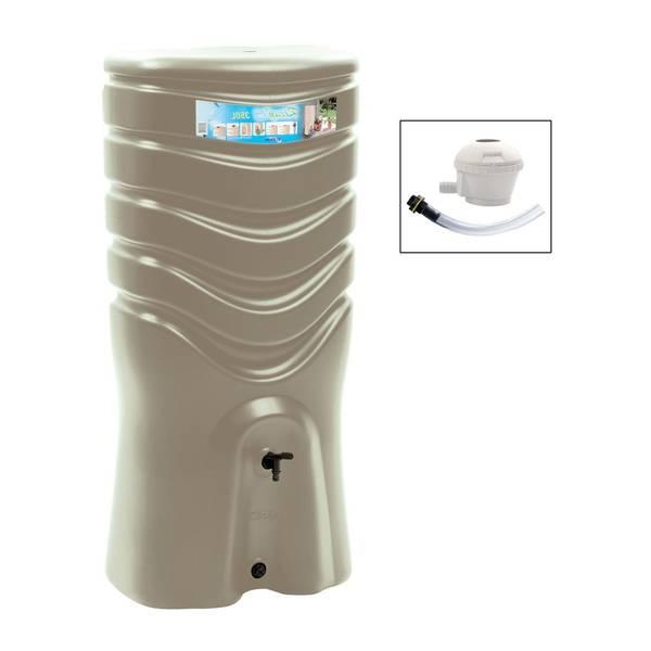 recuperateur eau de pluie gouttière